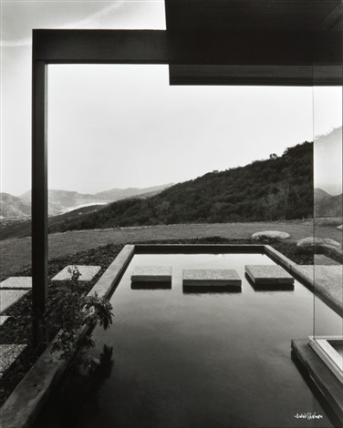 singleton house by julius shulman