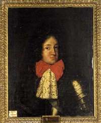portrait of duke karl philip of brunswick and lüneburg by jacques vaillant