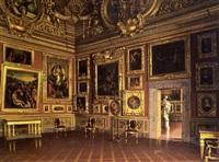 la salle saturne au palais pitti à florence by santi corsi