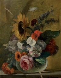 vase de fleurs by arthur chaplin