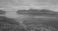 weite fjordlandschaft by ferdinand otto leiber