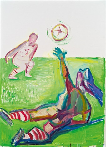 competition 2 by maria lassnig