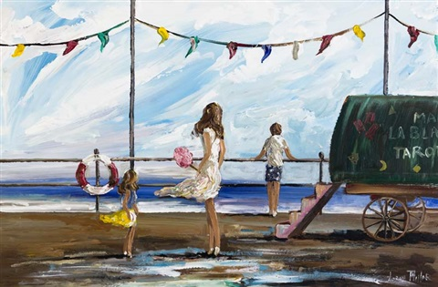 on the promenade by lorna millar