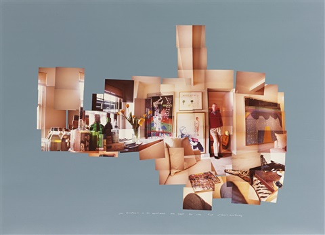 joe macdonald in his apartment new york dec 1982 by david hockney