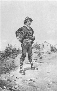 an italian peasant by g. fortunati