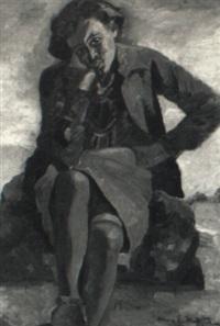 portrait of a black woman by anna elkan meltzer