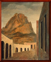 paisaje con arquería by emilio rosenblueth