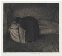 child in bed by robert sargent austin