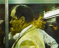 rush hour (from the cycle new york subway) by semyon faibisovich
