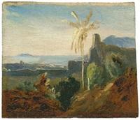 ansicht von terracina by karl blechen