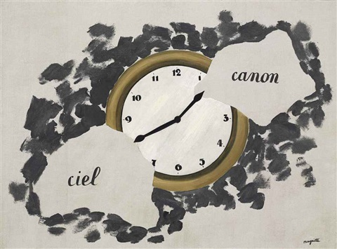 les reflets du temps reflections of time by rené magritte