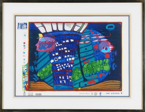 exodus into space by friedensreich hundertwasser
