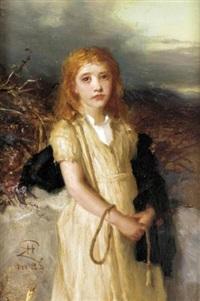 a moorland lass by robert herdman