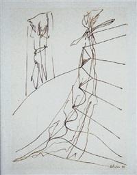 desnudo bajando una escalera by carlos alcolea
