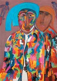 l'homme au chapeau bleu by ali menouar