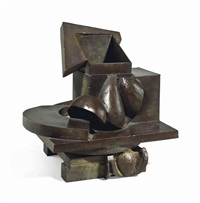 indian box (table bronze) by anthony caro