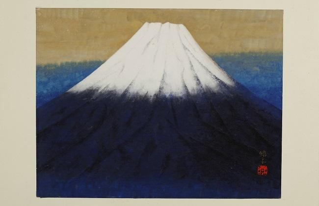 a view of mt fuji by kohei morita