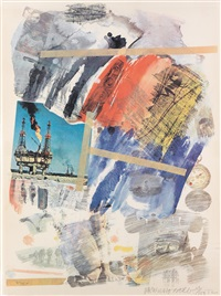 unititled (from horchow) by robert rauschenberg