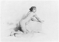 a nude by pierre paul léon glaize