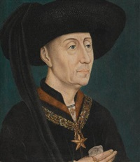 portrait of philip the good, duke of burgundy, wearing the order of the star by roger van der weyden