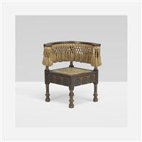 corner chair by carlo bugatti