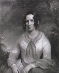 portrait of a lady by george clint
