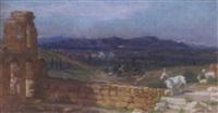 italian landscape by edith corbet