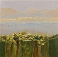 edges of a lake by john picking