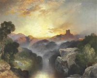 land of dreams by thomas moran