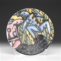 collaborative platter by robert brady and sandy simon