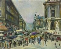 boulevard haussman, paris by lucien adrion
