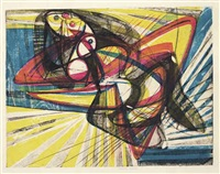 unstable woman by stanley william hayter