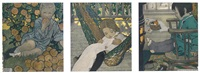 scenes of childhood (7 works) by jessie willcox smith