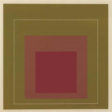 white lines squares series i iv by josef albers
