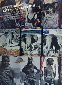 living sculptures by peter beard