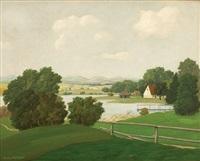 landscape by hans metzger