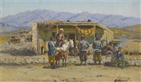 caravansarai by richard karlovich zommer