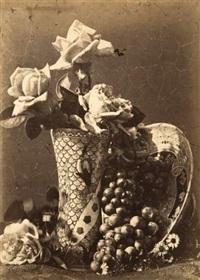 roses et raisins by charles aubry