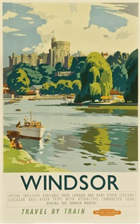 windsor, british railways by frank sherwin