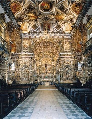 igreja de são francisco de assis salvador de bahia i by candida höfer