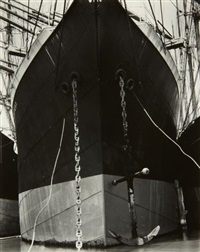 boats, san francisco by edward weston