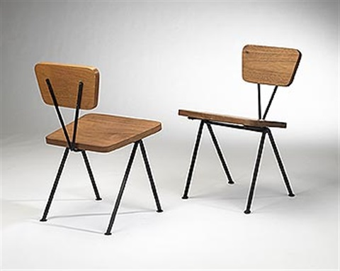 Chairs (pair) By Luther Conover