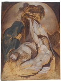 die beweinung christi by henry fuseli
