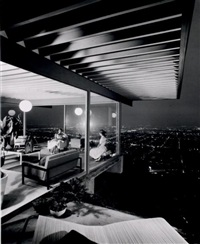 pierre koenig, case study house #22, los angeles by julius shulman