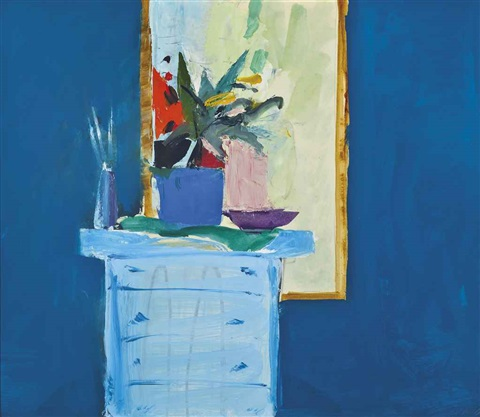 still life with mirror by donald hamilton fraser
