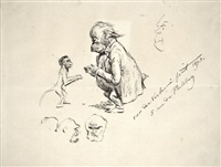 couple de singes et autoportraits simiesques by paul verlaine