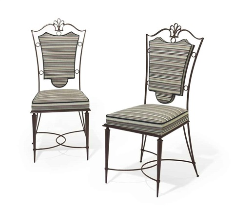 side chairs pair by raymond subes