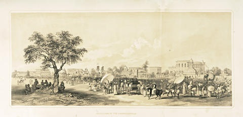 views of calcutta and its environs bk w25 works title folio by charles sir doyly