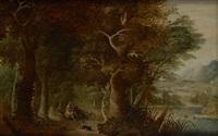 conversation sur fond de paysage montagneux by jasper van der laanen