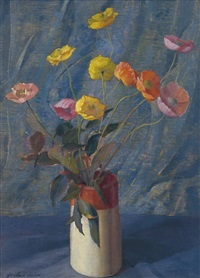 poppies by joshua smith